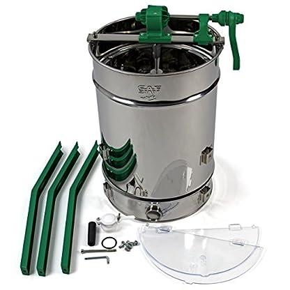 Easibee 6 frame Stainless Steel Radial Honey Extractor 2