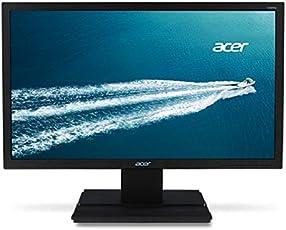 Acer V196WLBMD 48,2 cm (19 Zoll) Monitor (VGA, DVI, 5ms Reaktionszeit) schwarz