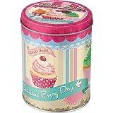 Nostalgic-Art 30518 Home und Country Fairy/Cup Cakes, Vorratsdose Rund