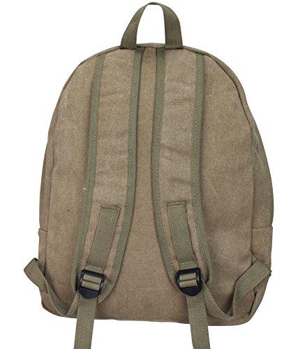 Damen Stern Handtasche Schultasche Clutch TOP TREND Tragetasche Kamel/Schwarz Modell 4