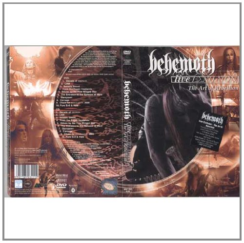 Behemoth - Live Eschaton - The Art (2 Dvd)
