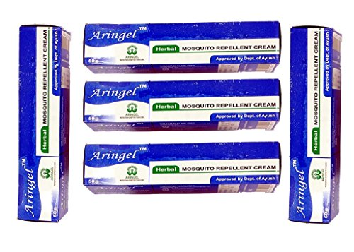 Aringel Mosquito Repellent Cream- (50gm Each) Set of 5  available at amazon for Rs.180