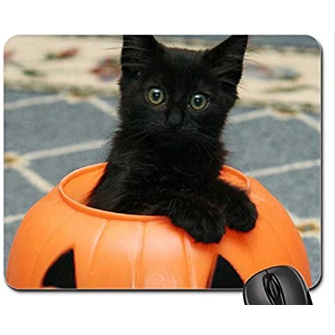 Boo!!-Mouse Pad, tappetino per Mouse, Tappetino per Mouse, motivo: gatti