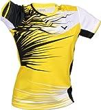 VICTOR t-shirt de l'équipe nationale coréenne de badminton Medium Jaune/noir - Jaune/noir/blanc