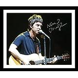Noel Gallagher Signiert und gerahmt Foto