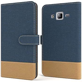EAZY CASE Tasche für Samsung Galaxy J3 Stoff: Amazon.de