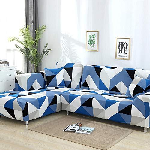 Divano copridivano 3 posti, divano elastico coprisedile in tessuto elasticizzato con rivestimento antiscivolo