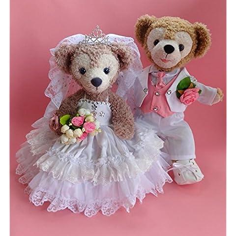 Duffy Wedding gorgeous pure white wedding dress and pure white tailcoat set No.22 (japan import)