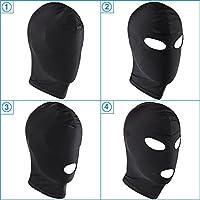 Knechtschaft Fetisch Maske Kopfmaske Strecken Maske BDSM Sexspielzeug (4-Augen und Mund aussetzen)