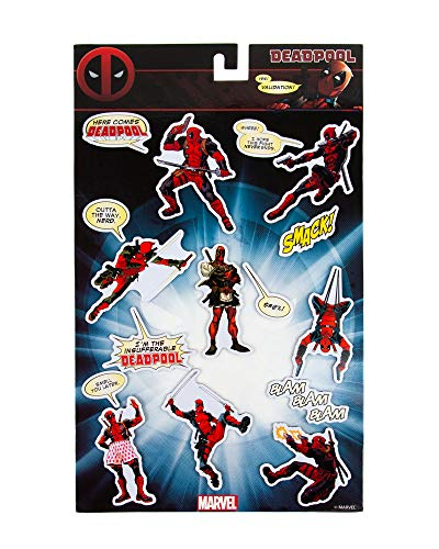 Marvel Gifts, imanes Oficiales Nevera Deadpool Juego