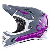 O'Neal Backflip RL2 Helm Bungarra Mountain Bike DH FR MTB BMX Downhill Fahrrad Magnetverschluss, 0500-2, Farbe Lila, Größe S