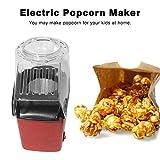 Lorenlli Mini Tragbare Elektrische Popcorn Maker Haushalt Automatische Popcornmaschine Air Blasen Typ Popcorn DIY Popper Kinder Geschenk
