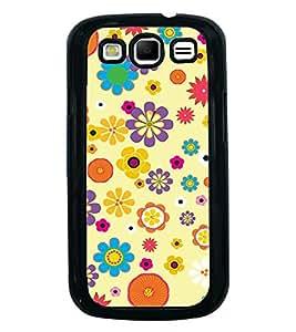 PrintVisa Designer Back Case Cover for Samsung Galaxy S3 Neo I9300I :: Samsung I9300I Galaxy S3 Neo :: Samsung Galaxy S Iii Neo+ I9300I :: Samsung Galaxy S3 Neo Plus (pink blue orange Inspire fabulous)