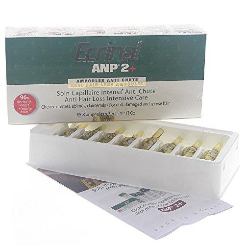 Ecrinal ANP Haar-Ampullen Kur, Intensive Haar-Behandlung bei Haarausfall, 8x5ml (Ampullen Haar 8)