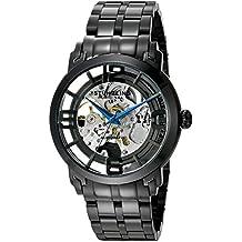 Stührling Original 170.33152 - Reloj analógico para hombre, correa de cuero, color negro