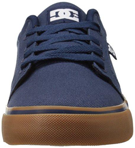 DC Shoes Anvil Tx, Chaussures basses hommes Marine / Marron (Navy / Gum)