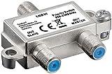 Goobay 63451 SAT Vorrang-Schalter, Verteilt/Schaltet 1 LNB auf 2 SAT-Receiver