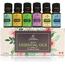 Blackstone 100% Pure aceites esenciales–árbol de té, eucalipto, menta, lavanda, citronela, Naranja Dulce
