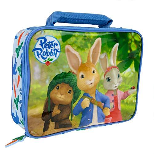 Peter Rabbit Lunchtasche für Mädchen, Picknick-Box, Synthetisch, blau, Einheitsgröße