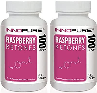 Raspberry Ketones Slimming Pills Duo Saver Pack | High Strength, Natural & Pure Ketones | 2 Months Supply | Innopure® by Innopure®