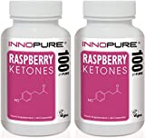 Raspberry Ketones Duo Saver Pack | High Strength, Natural & Pure Ketones | 2 Months Supply | Innopure®