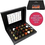 Hallingers Gewürz-Set - BBQ Deluxe 24 Männersache - verbesserte Edition 2018, Geschenk für Männer | Set/Mix | 24x Miniglas in Deluxe-Box | 425g