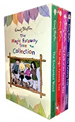 Enid Blyton The Magic Faraway Tree Collection 4 Books Box Set Pack