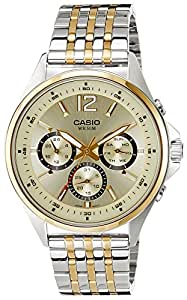 Casio Enticer Analog White Dial Men's Watch - MTP-E303SG-9AVDF (A960)