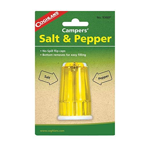 Coghlans Salz- und Pfefferstreuer, Kunststoff, Mehrfarbig, Einheitsgröße