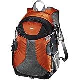 Hama Kamerarucksack für DSLR Kamera und Ausrüstung (Outdoor Fotorucksack, 20 L, herausnehmbares Kamerafach, Tablet-/Notebookfach, Regenschutz, Stativhalterung, handgepäcktauglich) Kameratasche orange/schwarz