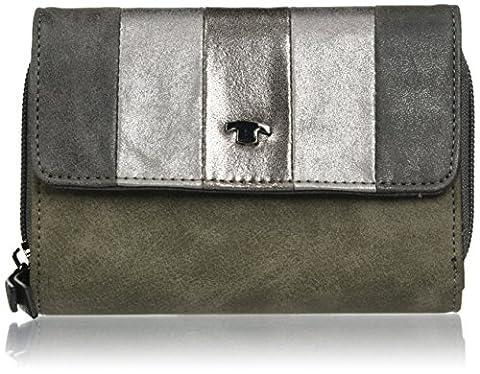 Tom Tailor Acc Damen Cleo Münzbörse, Grau (Grau), 4x10x14 cm