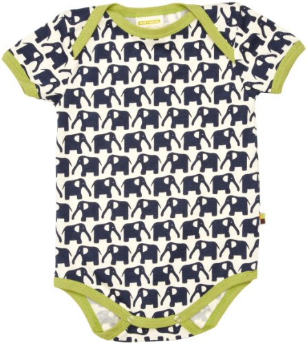 Loud and Proud Loud + Proud Unisex - Baby Body 201, Gr. 50/56, Blau (Marine)