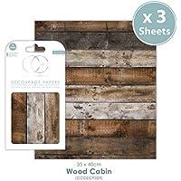 Craft Consortium Premium - Papel de decoupage para cabina de madera