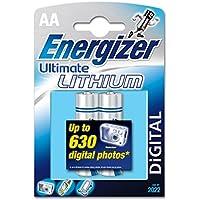 ENERGIZER Ultimate Lithium Batteries AA pour appareil photo numérique et les appareils électroniques personnel