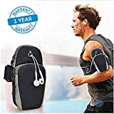Azacus Mobile Arm Band Pouch,Universal Gym Running Hiking Phone Bag Case Arm B