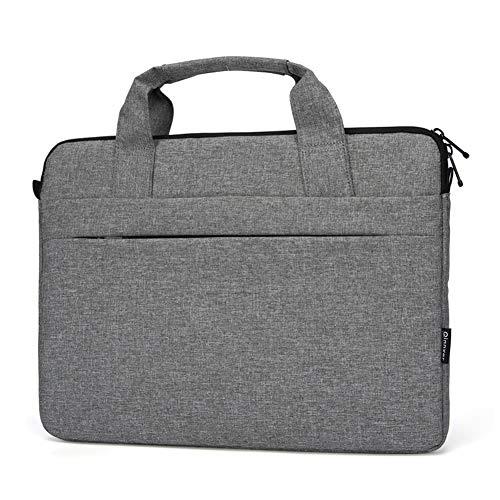 YotnT Cartella degli Uomini, alla Moda Cuoio dell'unità di Elaborazione da 15,6 Pollici per Notebook Borsa Impermeabile Borsa a Tracolla Laptop Bag