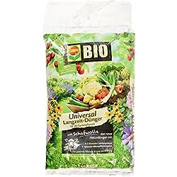 COMPO BIO Universal Langzeit-Dünger mit Schafwolle für alle Gartenpflanzen, 5 Monate Langzeitwirkung, 4 kg