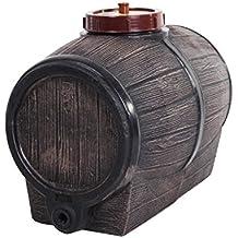 Ondis24 Weinfass Tisch Party Fass Lebensmittelecht 50 Liter Inkl Auslaufhahn Holzoptik
