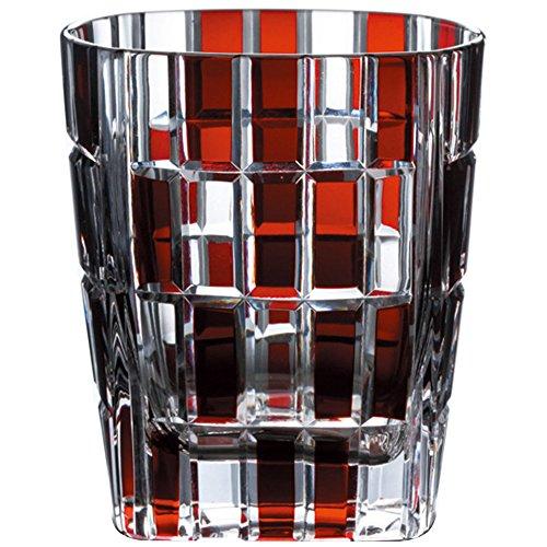 Roches Narumi urbain verre verre (rouge) 270cc de soude GW6052-222RD (japon importation)