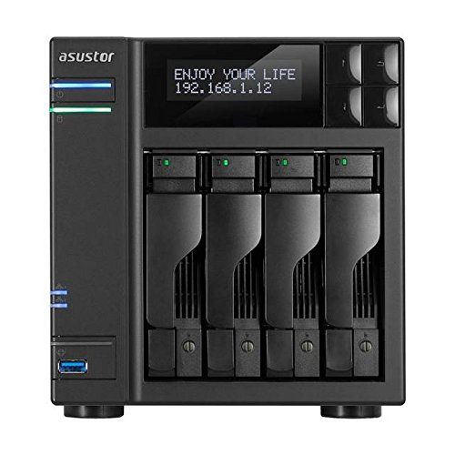 Asustor AS6404T 4-Bay NAS System (Intel Celeron (Apollo...