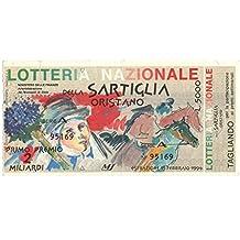 Generico 5000 LIRE BIGLIETTO LOTTERIA NAZIONALE DELLA SARTIGLIA ORISTANO 1994 SPL