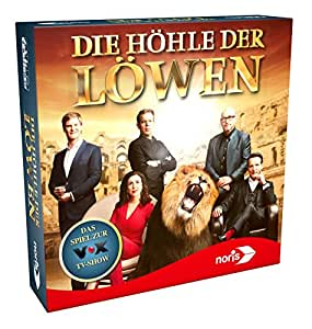 Noris Spiele 606101451 – Die Höhle der Löwen (2. Auflage), Familienspiel