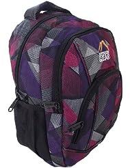 Petit sac à dos au design violet et rose attrayant.. Gym ou sac d'école. Voyage cabine ou les bagages à main. la plus haute qualité
