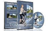 Corse a ciclo Virtuale - Mulini a Vento e Corsi D'acqua - Per Ciclismo All'aperto, Tapis Roulant e Allenamenti Correnti