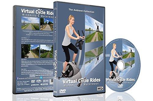 Virtuelle Fahrradstrecken – Windmühlen & Wasserwege – Für Indoor Cycling, Laufband und Laufworkouts