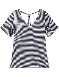 Promod T-Shirt mit Rückenausschnitt