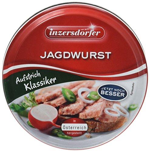 Inzersdorfer Jagdwurst, 24er Pack (24 x 125 g)