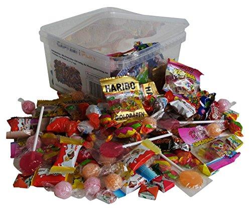 Süßigkeiten – Mix Party Box 228-teilig, für Kindergeburtstag mit 6 Kinder, 1er Pack (1 x 1,1 kg)