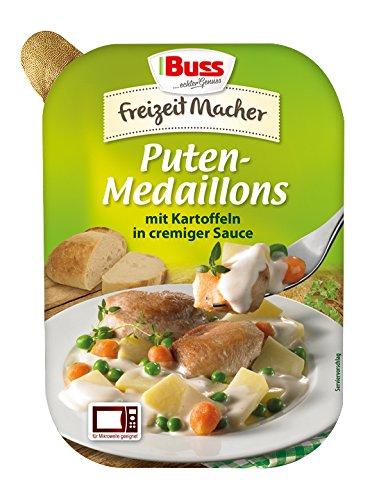 Preisvergleich Produktbild Buss Putenmedaillons mit Kartoffeln in cremiger Sauce,  300 g
