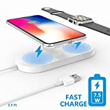 Best Cables To Go Watch Phones - Fast Wireless Charging Pad,Belker Qi-standard 2 in 1 Review